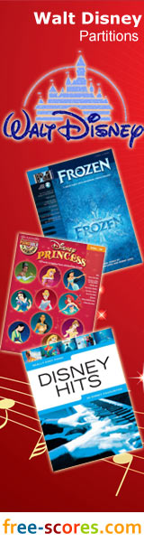 Disney sheet music