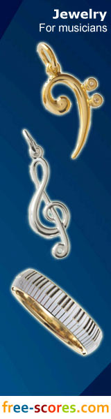 JEWELRY PENDANT MUSIC
