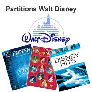 Disney sheet music