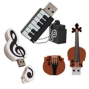 CLE USB MUSICQUE FANTAISIE