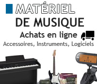 Acheter des Instruments de Musique