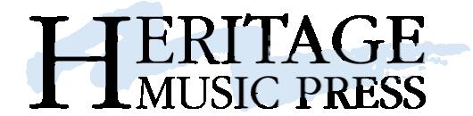 Heritage Music Press editeur