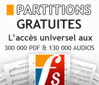 Partitions Gratuites