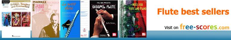 Free sheet music FLUTE - Download PDF, MP3 & MIDI