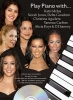 Play Piano With K.Melua, N.Jones, V.Carlton, A. Keys...Cd