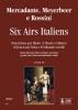 Six Airs Italiens. Transcription by Jean-Louis Tulou and Ferdinando Carulli