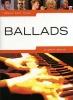 PIANO Ballade : Livres de partitions de musique