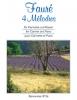 4 Mélodies. Ausgabe Für Klarinette Und Klavier