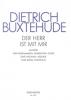 Buxtehude, Dieterich : Livres de partitions de musique