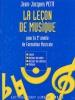 Petit Jean-Jacques : Leçon de musique - 3ème année