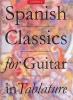 Spanish Classics Guitar Tab Albeniz