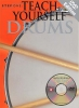 Step One Teach Yourself Drums Dvd Edition Book/Dvd