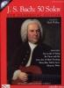 Bach Johann Sebastian : Bach 50 Solos For Classical Guitar Tab Cd