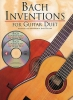 Bach Johann Sebastian : Bach Inventions For Guitar Duet Tab 2 Cd