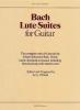 Bach Johann Sebastian : Bach Lute Suites For Guitar