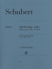 Schubert Franz : Piano Sonata A major, op. post. 120 D 664