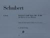 Schubert Franz : Fantasy f minor op. 103 D 940
