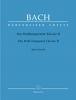 Bach Johann Sebastian : Das Wohltemperierte Klavier II