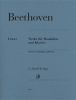 Beethoven Ludwig Van : Works for Mandolin and Piano
