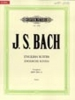 Bach Johann Sebastian : English Suites BWV 806-811, Complete in one volume