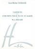 HARPE Harpe, Flûte (duo) : Livres de partitions de musique