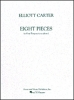 Carter Elliott : Carter Eight Pieces For Four Timpani One Player