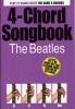 Beatles The : Beatles 4 Chord Songbook 21 Songs