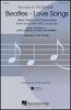 Beatles The : Beatles Love Songs Satb/Piano