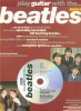 Beatles The : Beatles Play Guitar With 3 Tab Cd