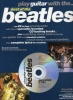 Beatles The : Beatles Play Guitar With Best Of Tab 2 Cd