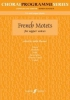 Blezzard Judith : French Motets. SA accompanied (CPS)