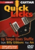Gibbons Billy : Lick Library: Quick Licks - Billy Gibbons Up-Tempo Blues