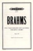 Brahms Johannes : Unaccompanied Secular Songs for Mixed Chorus, Vol.4