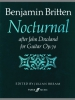 Britten Benjamin : Nocturnal after John Dowland (guitar)