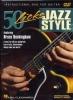 Buckingham Bruce : Dvd 50 Licks Jazz Style