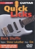 Casswell Michael : Dvd Lick Library Quick Licks Rock Shuffle S. Lukather