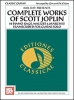 Chiaro Giovanni De : Complete Works of Scott Joplin for Guitar