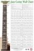 Christiansen Corey : Jazz Guitar Wall Chart