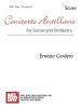 Cordero Ernesto : Concierto Antillano - Score