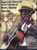 Davis Gary : Dvd Rev. Gary Davis Rags Minstrel Show Songs