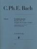 Bach Carl Philip Emmanuel : Sonates pour viole de gambe Wq 88, 136, 137 Edition pour gambe (alto)