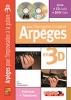 Desgranges Bruno : ARPEGE X IMPRO CH 3D+CD+DVD