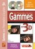 Desgranges Bruno : GAMMES IMPRO CH 3D+CD+DVD