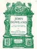 Dowland John : The First Book of Ayres (1597)