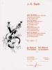 Bach Johann Sebastian : SIX SUITES VOLUME 1 SUITES 1.2.3