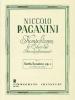 Paganini Niccolo : Six sonates op. 3 pour violon et guitare