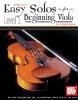 Duncan Craig : Easy Solos for Beginning Viola