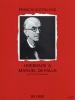 Kleynjans Francis : Hommage à Manuel de Falla