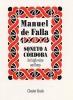 Falla Manuel De : De Falla Manuel Soneto A Cordoba For High Voice And Harp