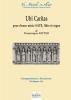 Ritter Dominique : Ubi Caritas pour choeur mixte, flûte et orgue